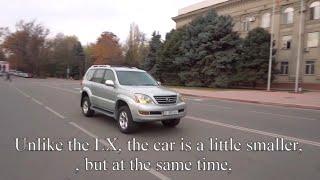 Lexus GX470 Car for rent in Kyrgyzstan