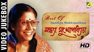 Best Of Sandhya Mukhopadhyay | Bengali Movie Video Songs Jukebox | Sandhya Mukherjee Songs