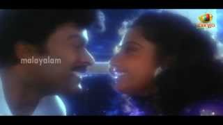 My Boss - Big Boss Malayalam Movie Scenes - Meena trying to impress Chiranjeevi - Roja, Brahmanandam