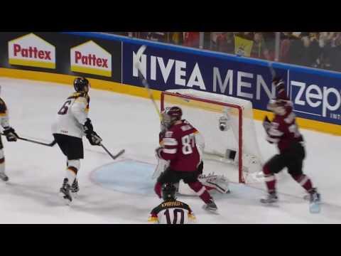 чм по хоккею 2017 Германия Латвия
