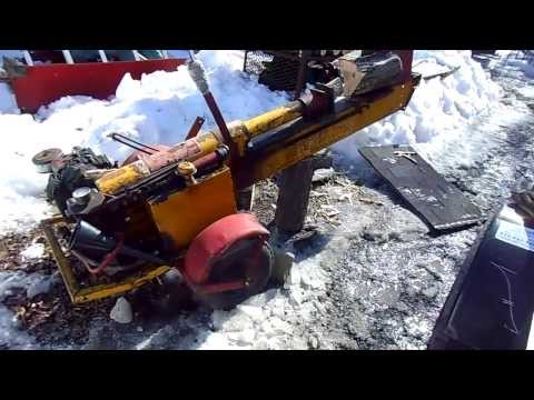 1959 Lickity Log Splitter Repairs Part 1