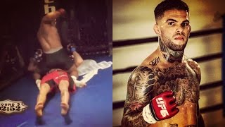 Dominick Cruz posts video of Garbrandt getting KO