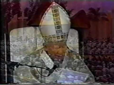 SANTA CLARA   CUBA  - SANTA MISA DE PAPA JUAN PABLO II -  22 de enero de 1998