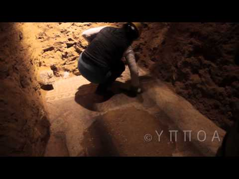 Alexander The Great's Tomb: The Case Of Amfipolis - Inside The Tomb Hd video