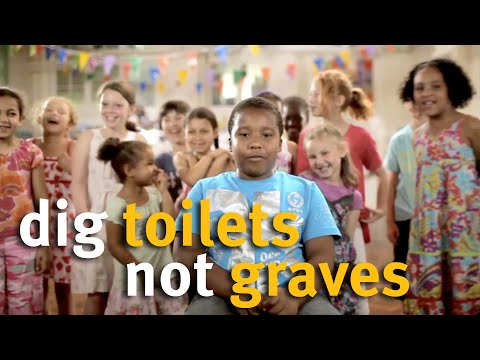 The Diarrhoea Song - Dig toilets, Not graves