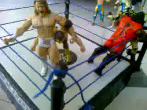 Muñecos de la wwe royal rumble