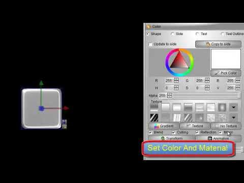 how to make 3d logo By Aurora 3D Text & Logo Maker