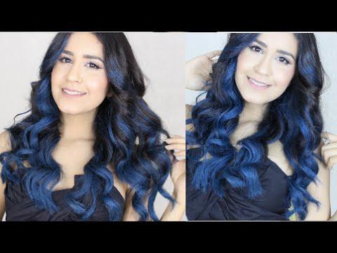 How To: Blue Ombre Hair w/Garnier Color Styler NO BLEACH