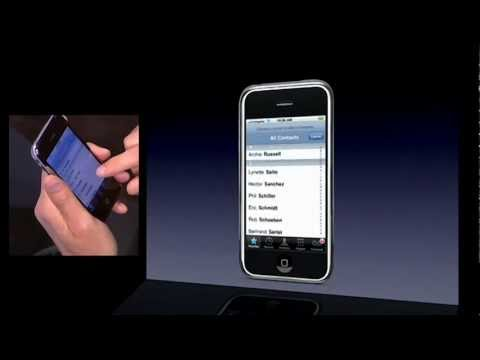 [HD] Steve Jobs - 2007 iPhone Presentation ( Part 1 of 2 )
