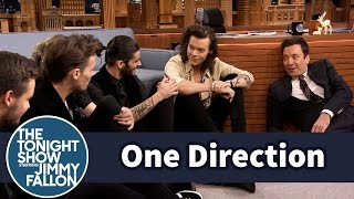 Download Lagu One Direction and Jimmy Have a Floor Interview Gratis STAFABAND