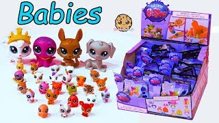Mom & Babies ! Littlest Pet Shop Mommies + Baby Animal Surprise Blind Bag Toys
