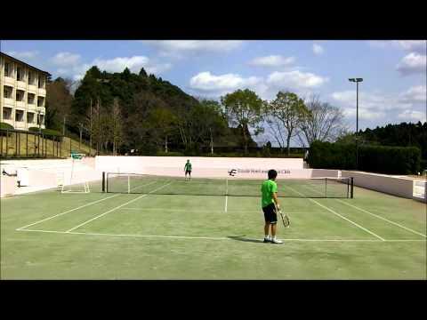 高校生男子シングルス決勝 2012年千葉ジュニアスプリング