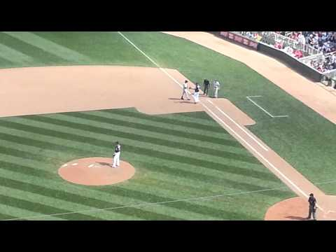 Derek Jeter's last career hit at Minnesota Twins