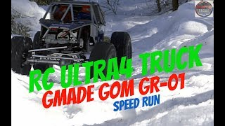 RC ULTRA4 Truck - Gmade GOM GR-01 Rock Buggy Snow Speed Bashing