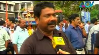 Hartal in connection with RSS murder inconveniences public