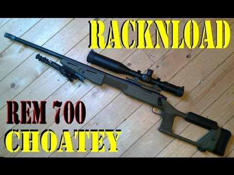 REMINGTON 700 .308 'Choate stock review' by RACKNLOAD