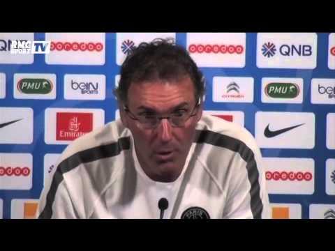 Football / Laurent Blanc et la pré-saison du PSG - 24/07