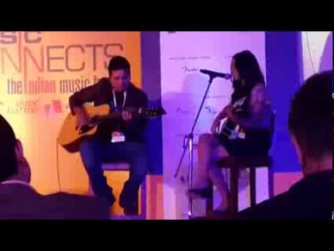 Shraddha Sharma live performance Was held at ITC grand hotel...