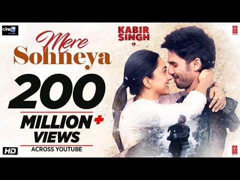 Download Lagu  Kabir Singh: Mere Sohneya Song | Shahid K, Kiara A, Sandeep V | Sachet - Parampara | Irshad K Mp3 Free