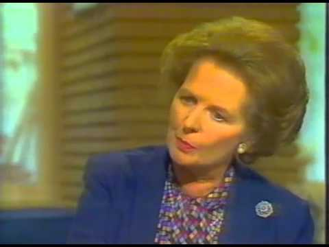 David Frost interviews Margaret Thatcher about the sinking of the Belgrano