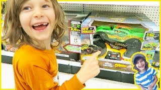 """Toy Truck Hunt Birthday Edition at Toys""""R""""us"""