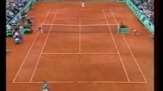 Ruano Pascual Tauziat French Open 1995