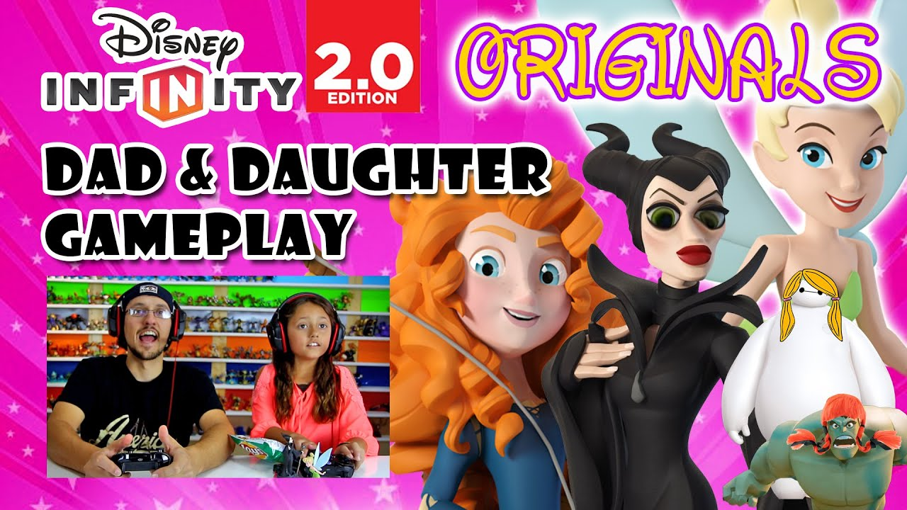 Dad Amp Daughter Play Disney Infinity 2 0 Originals