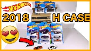 Unboxing Hot Wheels 2018 H Case 72 Car Assortment!