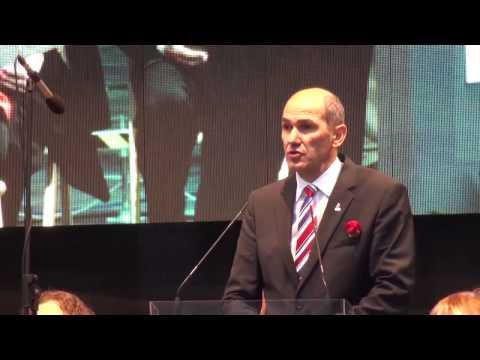 Janez Janša govor na prireditvi Ponosni na Slovenijo