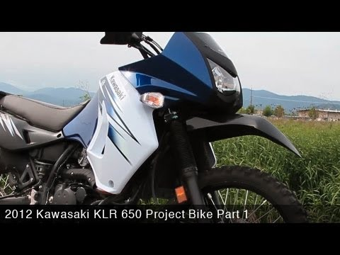 2012 Kawasaki KLR650 Project Bike Part 1 - MotoUSA