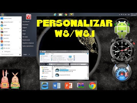 COMO PERSONALIZAR WINDOWS 8.1 AL MÁXIMO Part 1