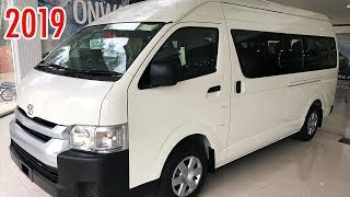 New Toyota Hiace 2019 Detailed Video | 2019 Toyota Hiace Commuter Hi-Roof Price in Pakistan