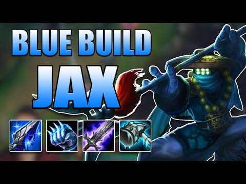 BLUE BUILD JAX TOP - League of Legends