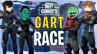GOLF CART RACE | FORTNITE CUSTOME GAME - #PINOY