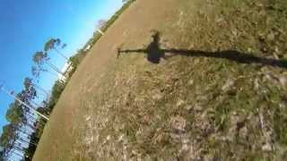 Revision III tricopter crash