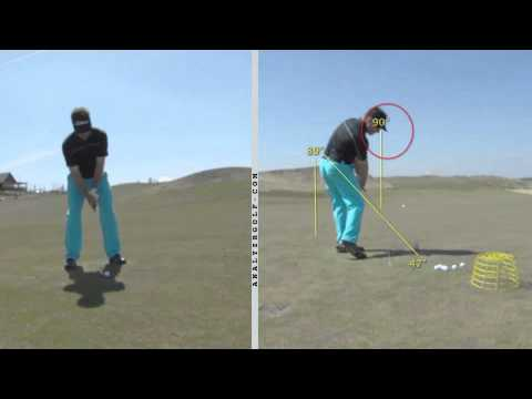 Martin Chuck - Inventor of the Tour Striker - Golf Swing - Self Analysis