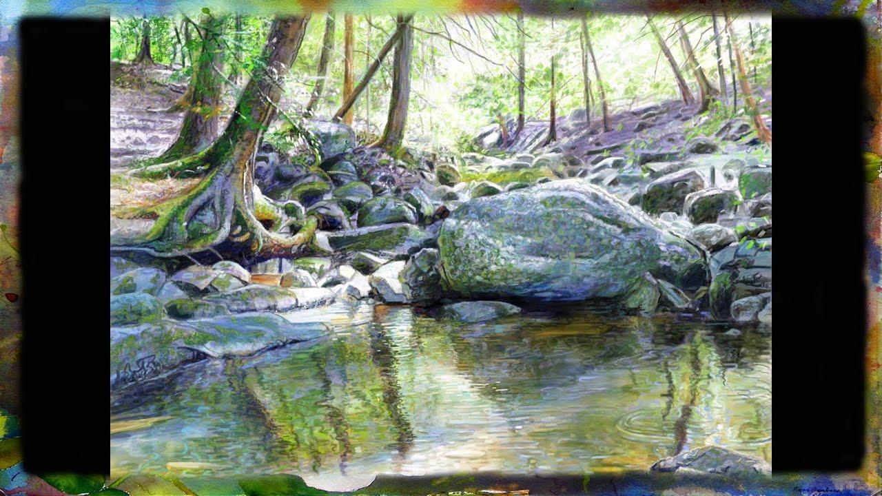 Landscape Oil Painting Simple