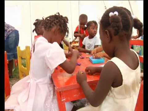 MaximsNewsNetwork: HAITI: DAMAGED SCHOOLS, UNICEF & CEF KITS, TENTS