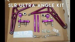 E46 M3 SLR Ultra Angle Kit Unboxing