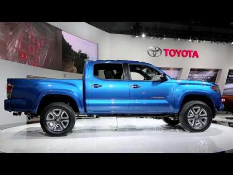 2016 Toyota Tacoma Preview: 2015 Detroit Auto Show