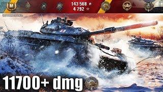 Не зря у него три отметки на STB-1 World of Tanks лучший бой как играют ТОП статисты wot 11700+ dmg