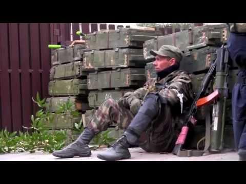 Армия Новороссии в боях за аэропорт Донецка