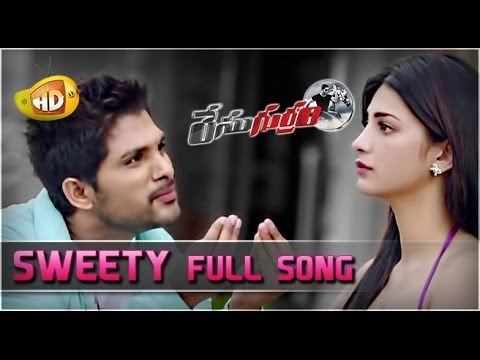Race Gurram ᴴᴰ Full Video Songs - Sweety Song - Allu Arjun, Shruti Haasan, S Thaman - Official Songs video
