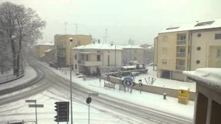 TimeLapse - Colorno (PR) Snow 11feb2013 450x
