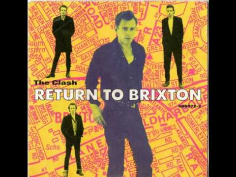 THE CLASH - RETURN TO BRIXTON (7'' RADIO EDIT) (1990)
