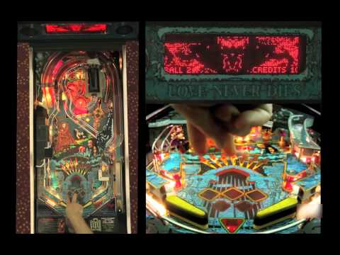 BRAM STOKER'S DRACULA Pinball Machine (Williams 1993) - PAPA video tutorial
