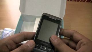 Unboxing the Samsung Champ 2 C3330