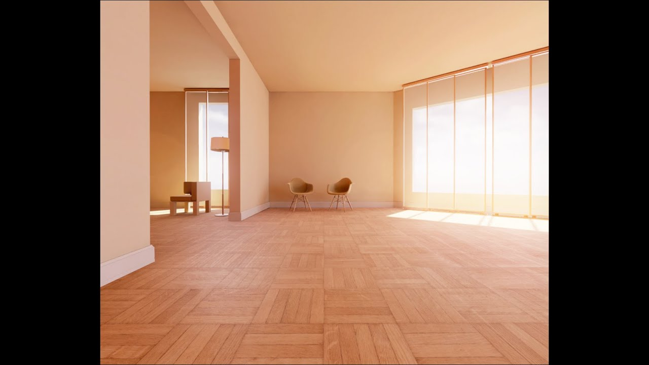 UE4Arch.com - Orange room