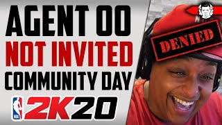 [BREAKING] WHY AGENT 00 IS NOT INVITED TO NBA 2K COMMUNITY DAY - NBA 2K20 News
