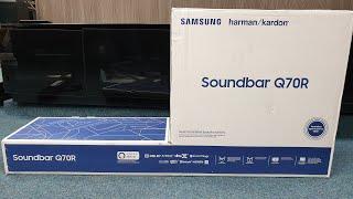 01. Samsung 2019 HW Q70R Soundbar Unbox and Test.